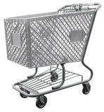 Light Gray Shopping Cart