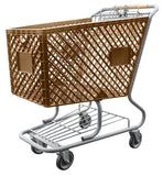 Tan Shopping Cart