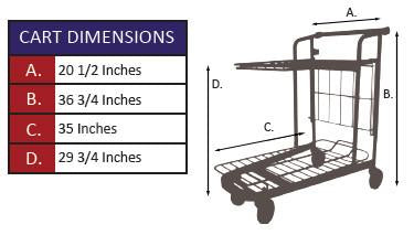 919 Nesting Cart Specifications