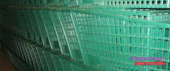 Green Plastic Shopping Carts