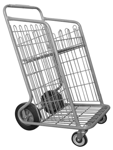 Metal Wire Carry Out Cart