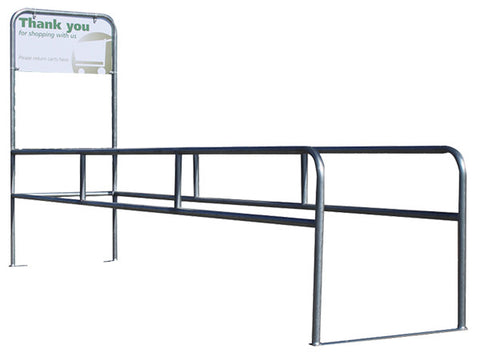 CCS-1036 Cart Corral Single