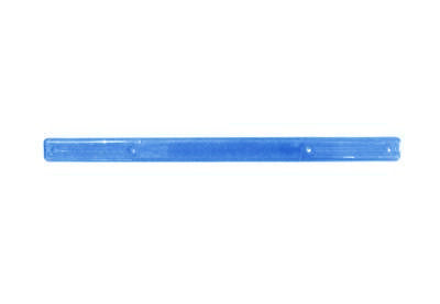 "Tote Cart/United 16"" long blue plastic shopping cart handle with printing"