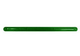 "Tote Cart/United 19"" long green plastic shopping cart handle with printing"