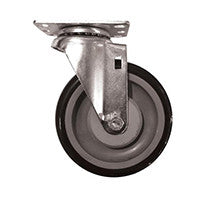 "5"" Poly-U Swivel Caster Assembly"