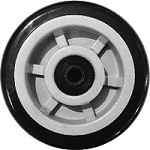 "6"" x 2"" Poly-U Wheels"
