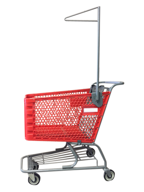 Garment Cart - Plastic