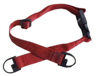 Red Child Seat Belt Straps For Shopping Carts