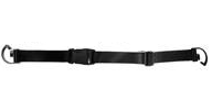 5 Panel Nylon Belt - Black - Astm 2372-11a Compliant