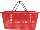 Red Plastic Jumbo Hand Basket