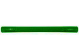 "Americana/Unarco 4 Nibs 13"" long green plastic shopping cart handle with Thank You printing"