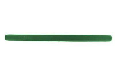 "Technibilt/Precision 18"" long green plastic shopping cart handle"