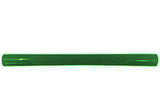 "Americana/Unarco/Rehrig 19"" long green plastic shopping cart handle"