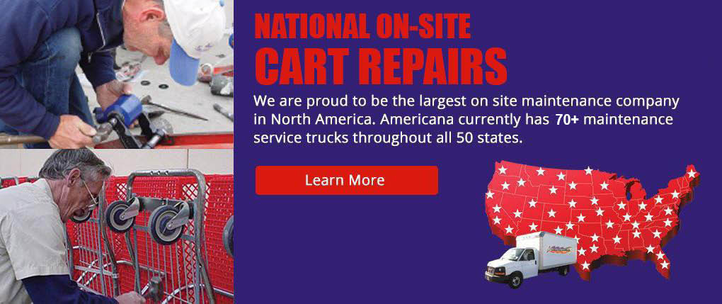 New & Used Shopping Carts Manufacturer & Service | Americana Companies