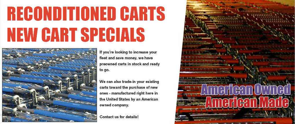 Preowned and trade in shopping carts