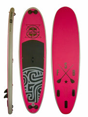Inflatable Paddle Board Pink Panther 10ft - Aquariuz