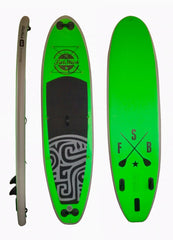 Inflatable Paddle Board Snot Rocket (Green) 10'6 - Aquariuz