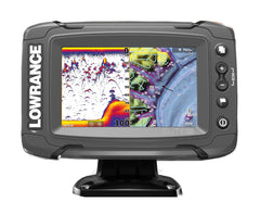 Lowrance Elite-5 Ti Fishfinder/Chartplotter with Mid/High/TotalScan Txd & C-MAP South Europe Card