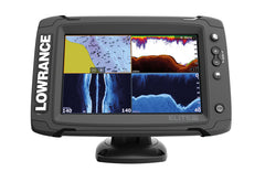 Lowrance Elite-7 Ti Fishfinder/Chartplotter with TotalScan Txd & UK & Ireland C-MAP MAX-N Card