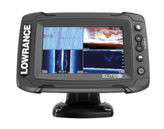 Lowrance Elite-5 Ti Fishfinder/Chartplotter with TotalScan Txd & UK & Ireland C-MAP MAX-N Card