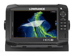 Lowrance HDS-7 Carbon Multifunction Display with HST-WSBL Skimmer Txd and StructureScan 3D Module/Txd Bundle