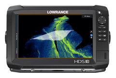 Lowrance HDS-9 Carbon Multifunction Display with TotalScan Transducer