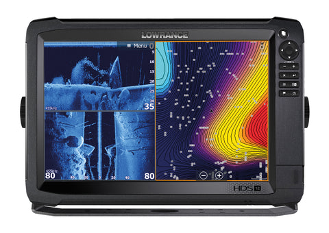Lowrance HDS-12 Carbon Multifunction Display - No Transducer