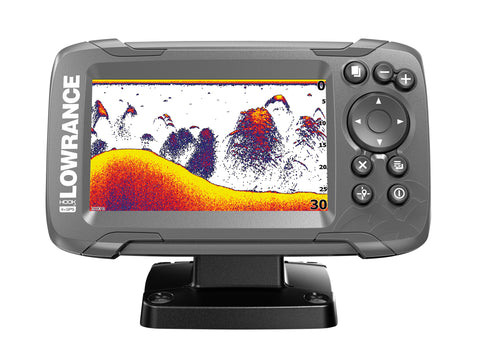 Lowrance HOOK2-4x GPS Plotter/Fishfinder with Bullet Skimmer Txd