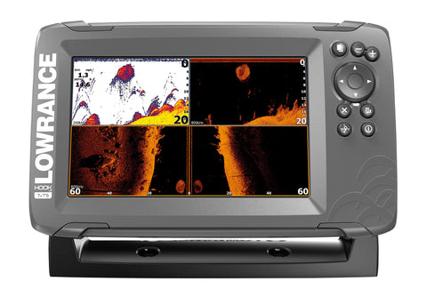 Lowrance HOOK2-7x GPS Plotter/Fishfinder with TripleShot Txd