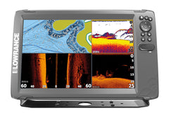 Lowrance HOOK2-12 Fishfinder/Chartplotter with TripleShot Txd