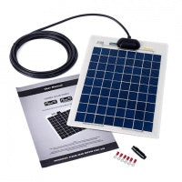 10w Flexi Solar Panel Kit Basic - Aquariuz