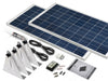 Image of 240 Watt Narrow Boat Solar Kit