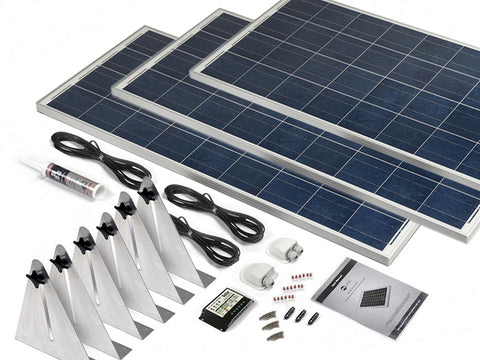 300 Watt Narrow Boat Solar Kit