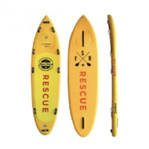 Inflatable Paddle Board Rescue 11'2 - Aquariuz