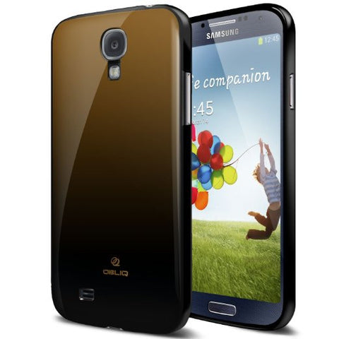 OBLIQ Galaxy S4 Case Fade Brown