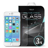 OBLIQ iPhone 6S Plus Screen Protector Zeiss Pure Xtreme Glass 3PK