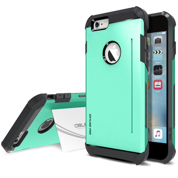 OBLIQ iPhone 6S Plus Case Skyline Pro Mint