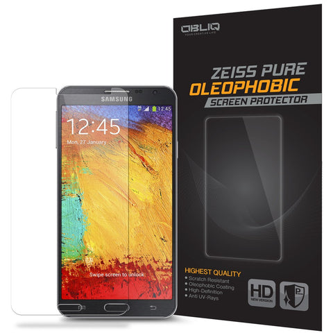 OBLIQ Galaxy Note 3 Screen Protector Zeiss Pure Oleophobic 1PK