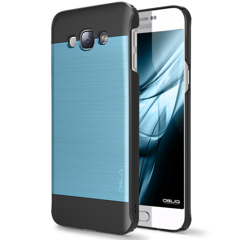 OBLIQ Galaxy A8 Case Slim Meta Metallic Blue