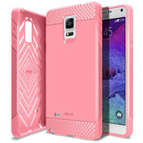 OBLIQ Galaxy Note 4 Case Flex Pro Pink