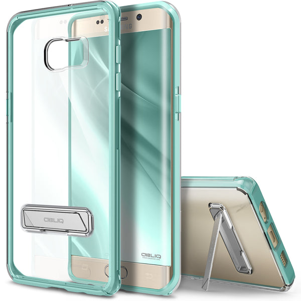 OBLIQ Galaxy S6 Edge Plus Case Naked Shield Mint