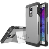 OBLIQ Galaxy Note 4 Case Skyline Pro Gun Metal