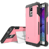 OBLIQ Galaxy Note 4 Case Skyline Pro Pink