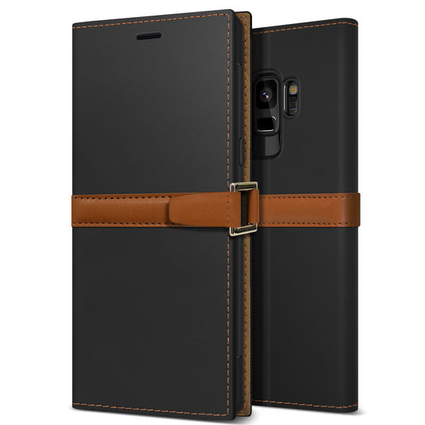 Galaxy S9 Case Z2 Wallet Black