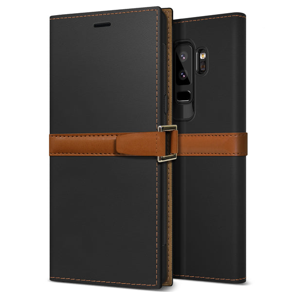 Galaxy S9 Plus Case Z2 Wallet Black
