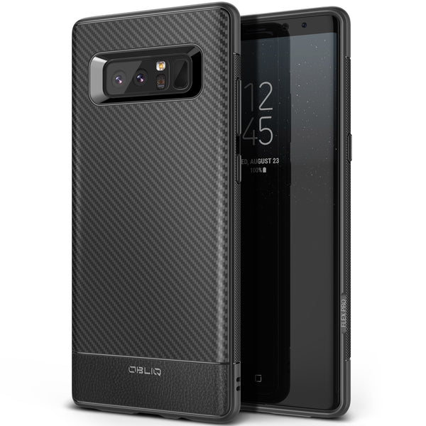 OBLIQ Galaxy Note 8 Case Flex Pro Midnight Black