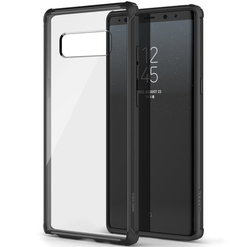 OBLIQ Galaxy Note 8 Case Naked Shield Midnight Black