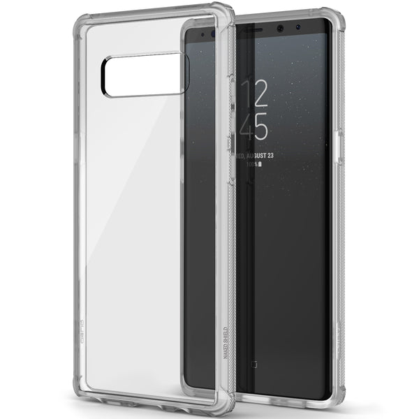 OBLIQ Galaxy Note 8 Case Naked Shield Frost Clear