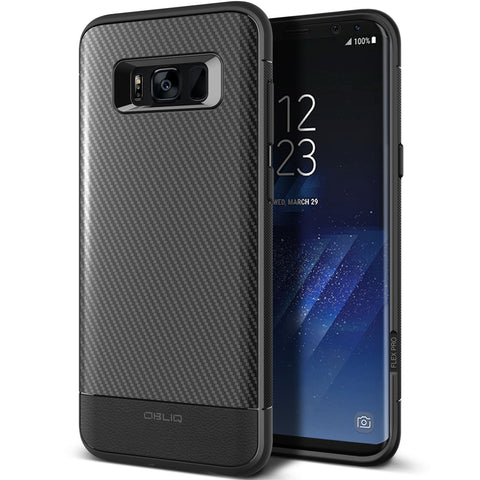 OBLIQ Galaxy S8 Plus Case Flex Pro Black