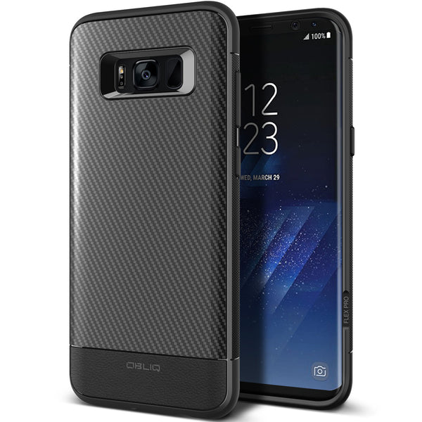 OBLIQ Galaxy S8 Case Flex Pro Black